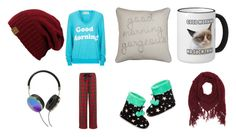 """""""good morning y'all~MaDiSoN"""" by savannahh-rae ❤ liked on Polyvore featuring Thro, Wildfox, Lauren Ralph Lauren, PJ Couture, Charlotte Russe, Frends and MaDiSoNsSetSyAlL"""
