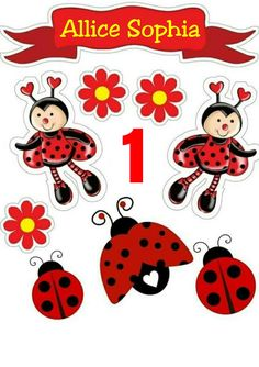 Pic for magnets? Diy And Crafts, Paper Crafts, Arts And Crafts, Tigger Disney, Unicorn Themed Birthday Party, Ladybug Party, Pocket Scrapbooking, Baby Album, Scrapbook Stickers
