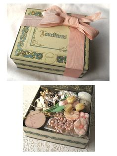 A Tin of Loveliness  Super Deluxe All Vintage Kit by fancylinda, $125.00
