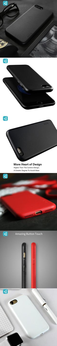 For Iphone 7 7 Plus Phone Case Duzhi PU Leather Cell Phone Cover Smartphone Business Style Drop Protection Shell