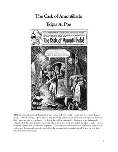 the raven by edgar allan poe lesson plans worksheets with key reading teaching materials. Black Bedroom Furniture Sets. Home Design Ideas