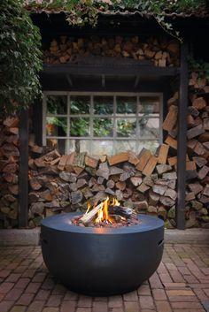 Happy Cocooning vuurtafel Bowl - Geniet van warmte en sfeer met een comfortabele vuurtafel op gas!
