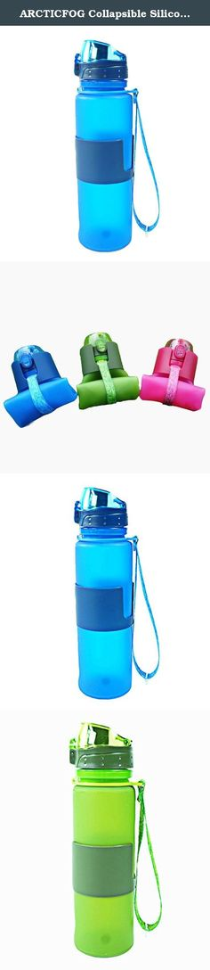 ARCTICFOG Collapsible Silicone Water Bottle, Food-grade Platinum Silicone, Germany LFGB Certification, Reusable Foldable Leak Proof Roll Up Cup for Sports and Outdoor Activities. About ARCTICFOG: ARCTICFOG is a professional Sports& Outdoor product supplier, focusing on supplying all kinds of quality, stylish and attractive items to help improve customers' high-quality life. We devote ourselves to improving customers' on-line shopping experience. Features: • Quality health • Environmental...