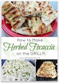 How to Make Herbed Grilled Focaccia on the Grill