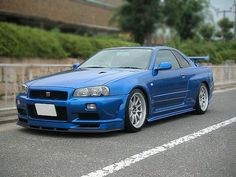 Nissan Skyline R34 GTR V Spec II N1 2003 - in my mind, the most beautiful import tuner car ever