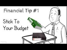 Financial tip #1: Stick to your budget http://www.personalbankruptcycanada.ca/blog/creating-and-sticking-budget