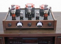 Bauanleitung fuer einen 300B-Verstaerker, von Torsten Poel Mc Intosh, Cd Player, Radio Design, Valve Amplifier, High End Audio, Hifi Audio, Vacuum Tube, Boombox, Audio Equipment