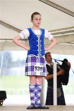 Kilt with blue vest Highland Games, Blue Vests, Dance Outfits, Tartan, Scotland, Dancing, Pride, Band, Dresses