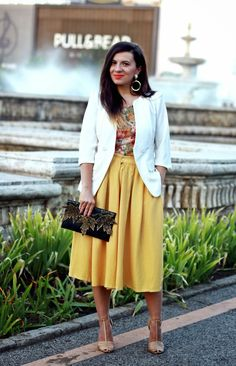 La  Bohème: Yellow, it's your time to be worn!