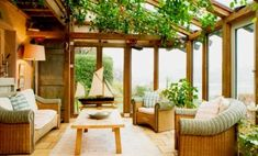 Sunroom Ideas on a Budget Sunroom Cost, Sunroom Decorating, Sunroom Ideas, Patio Ideas, Garden Ideas, 4 Season Room, Outdoor Rooms, Outdoor Decor, Outdoor Life
