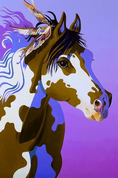 Painted Lady - acrylic by ©Bob Coonts (via FineArtAmerica)