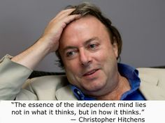 ~ Christopher Hitchens
