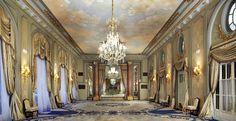 Salon Gran Via Hotel Palace Barcelona 5* Gran Lujo