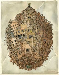 Lost in the Baroque – The Drawings of Mattias Adolfsson | 10 Times One