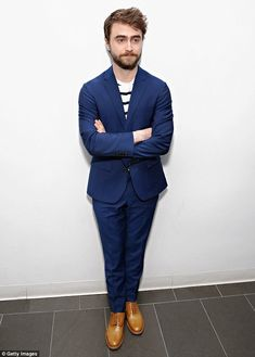 All grown up: Daniel Radcliffe, pictured earlier this month, has been attempting…