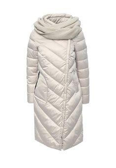 Стеганая куртка Clasna выполнена из гладкого текстиля, утеплена слоем синтепона. Детали: воротник...