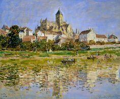 L'Eglise de Vétheuil (C Monet - W 531),1879