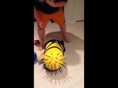 I'm Ok!! Homemade Minion Costume - YouTube