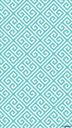 Square aztec blue wallpaper Wallpaper. Phone background. Lock screen.