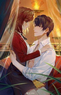 Anime Neko, Kawaii Anime, Manga Anime, Anime Couples Drawings, Anime Couples Manga, Anime Love Couple, I Love Anime, Anime Art Girl, Manga Art