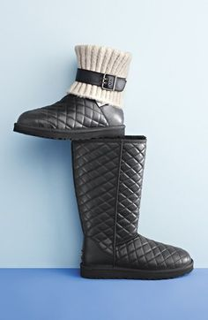These quilted UGG boots are on the wishlist.