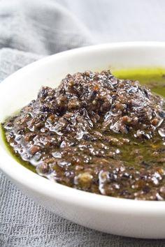 Purple Basil Pesto