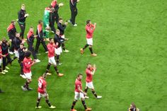 End of 2014 season - trophy-less - goodbye #Moyes era and #Giggs transition to management
