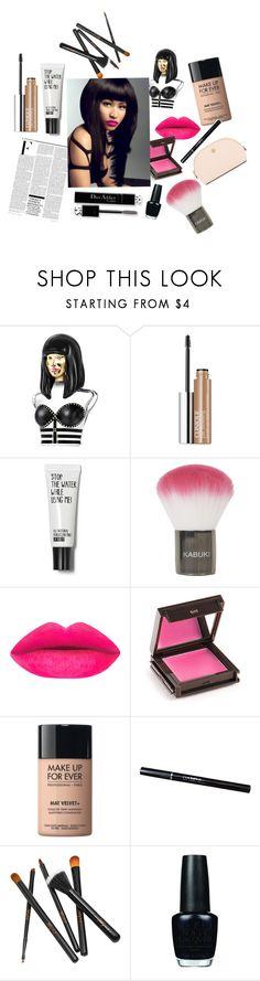 """Nicki Minaj Beauty"" by kawaii-02 ❤ liked on Polyvore featuring beauty, Nicki Minaj, Clinique, Topshop, Christian Dior, Jouer, MAKE UP FOR EVER, OPI and Tory Burch"