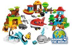 LEGO DUPLO lanceert dit jaar een compleet nieuwe speelgoedset met het thema DUPLO Rond De Wereld. De speelgoedset bestaat uit vijf nieuwe producten.
