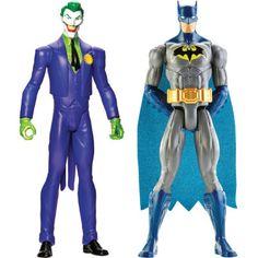 Bonecos Batman e Coringa - Mattel