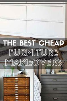Is your table, chair, or dresser on its last leg? Don't haul it off to the junkyard! Instead, flip through our favorite affordable yet unforgettable furniture makeovers to gather inspiration for your next DIY.