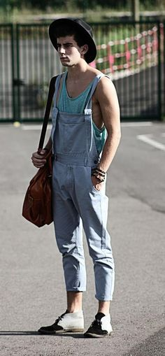 How To Rock An Overall In Three Easy Steps Without Making It Look Like A Uniform
