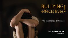 Bullying Effect Lives - Lets protect our students in schools against bullying. Request a free demonstration today. Effects Of Bullying, Schools, Students, Let It Be, Movie Posters, Free, Film Poster, School, Billboard