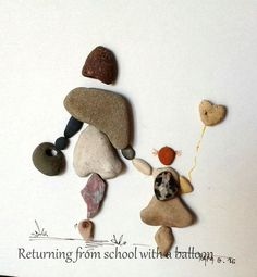 Resultado de imagen para pebble art ideas