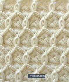Watch This Video Beauteous Finished Make Crochet Look Like Knitting (the Waistcoat Stitch) Ideas. Amazing Make Crochet Look Like Knitting (the Waistcoat Stitch) Ideas. Picot Crochet, Crochet Motifs, Crochet Stitches Patterns, Knitting Stitches, Crochet Designs, Crochet Hooks, Free Crochet, Knitting Patterns, Stitch Patterns