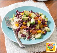 Red Beans & Rice #veggies #grains #MyPlate #WhatsCooking