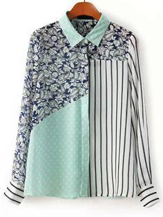 Color-block+Vertical+Striped+Paisley+Print+Blouse+17.99