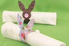 Easter bunny napkin rings | Tally's Treasury