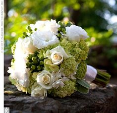 green wedding flower bouquet, bridal bouquet, wedding flowers, add pic source on comment and we will update it. www.myfloweraffair.com can create this beautiful wedding flower look.