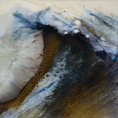 "Saatchi Online Artist: Lia Melia; Mixed Media 2012 Painting "".Songs of Melusina 1"""