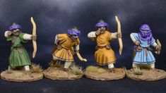 28mm Middle Eastern Archers