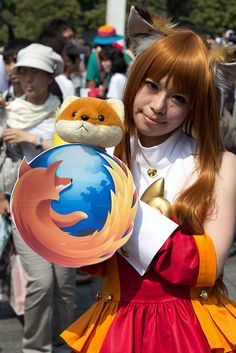 Comiket 80 cosplay by CrunchyLens, via Flickr