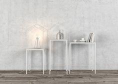 Lotta Agaton// Display shelves