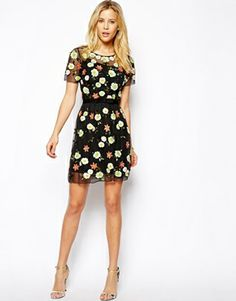 Image 4 ofNeedle & Thread Wild Flower Dress