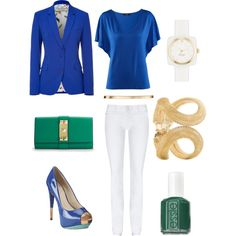 KLEIN BLUE AND OCEAN GREEN, created by la-petite-alizee