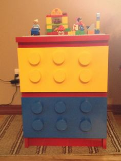IKEA Hacker Lego dresser...But FIRST I need a grandchild to make it for!!!