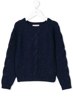 marc janie Girls Sweet Ruffles Lurex Sweater Knitting Cardigan Little Girls Coat