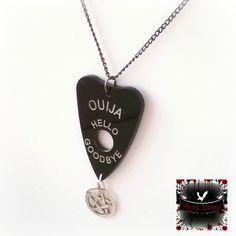 Ouija Pentagram gothic witch Neckalce by MetalLiquor on Etsy https://www.etsy.com/ca/listing/278198328/ouija-pentagram-gothic-witch-neckalce