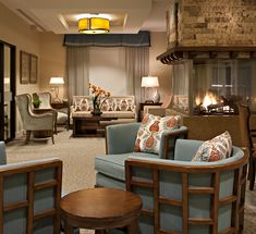 The Living Room at Maison Senior Living