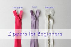 Sew Delicious: Zippers for Beginners